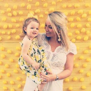 Dolce & Gabbana lemon citrus little girls dress